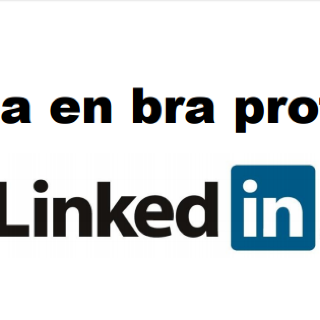 Skapa en bra LinkedInprofil