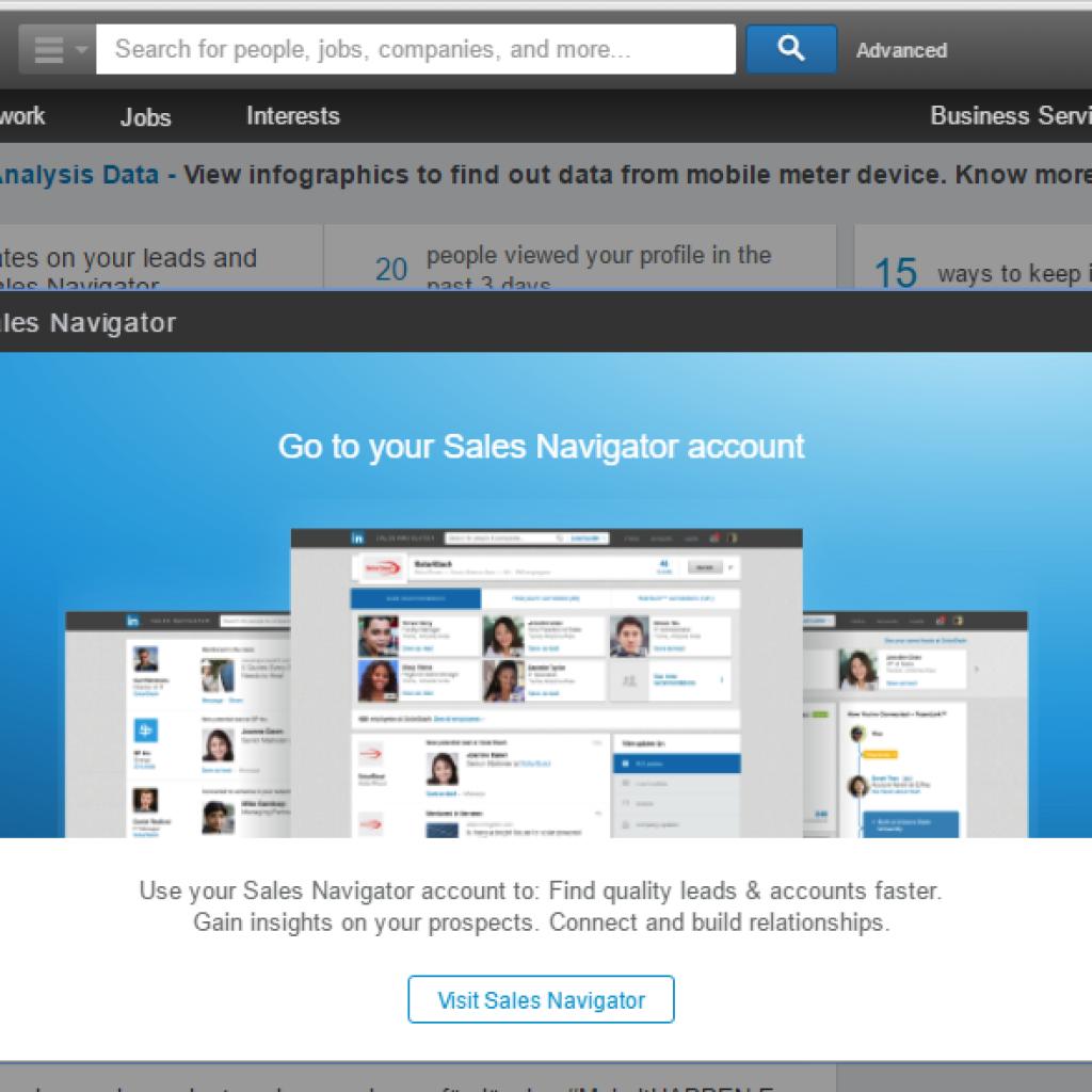 Lär dig använda LinkedIn™ Sales Navigator