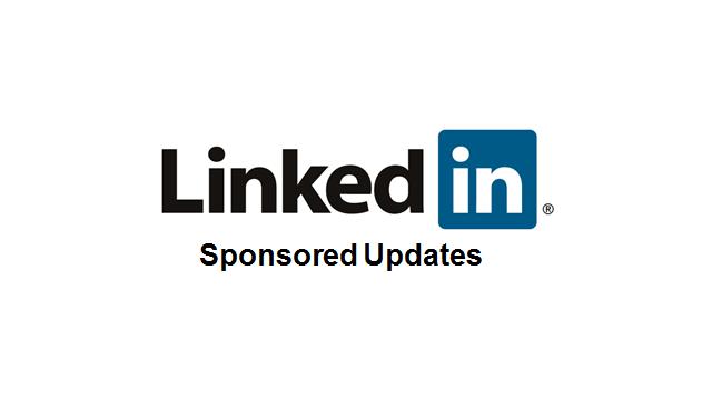 Sponsored Updates på LinkedIn