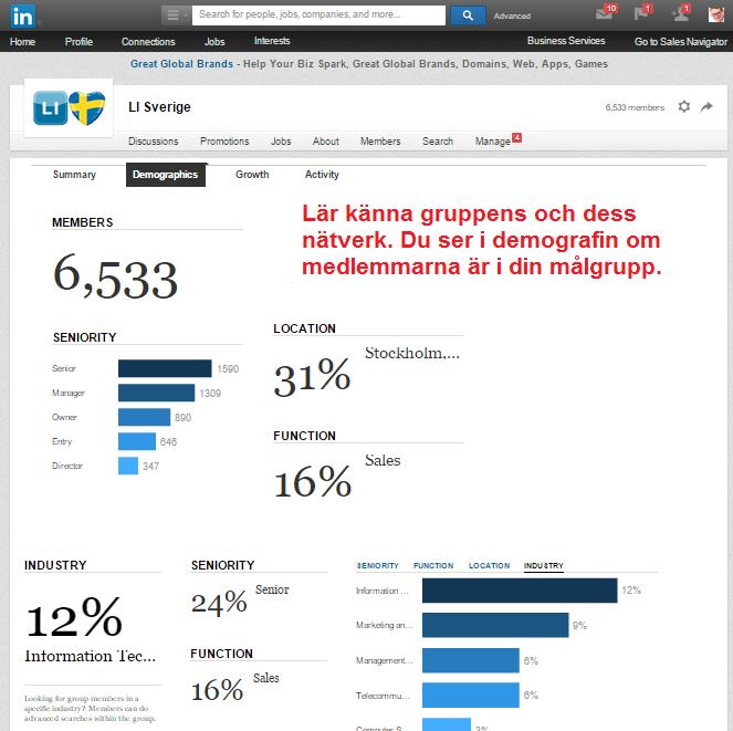 Hjärtat av LinkedIn: LinkedIn Groups