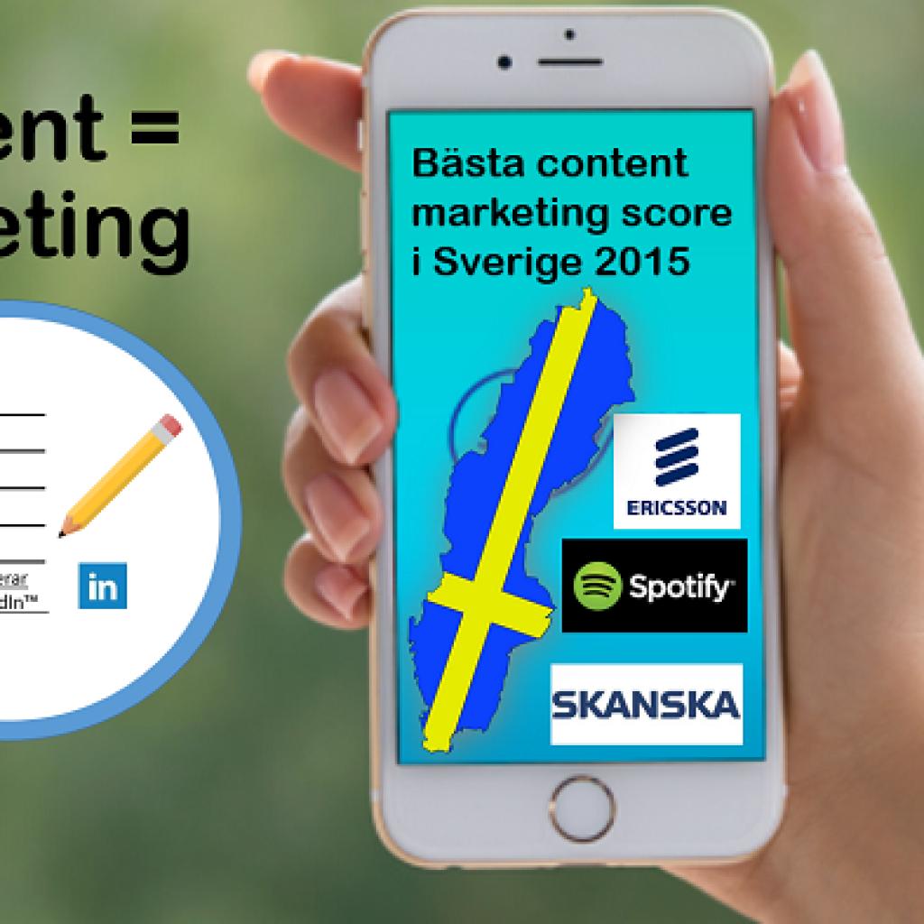 content marketing med Linkedin