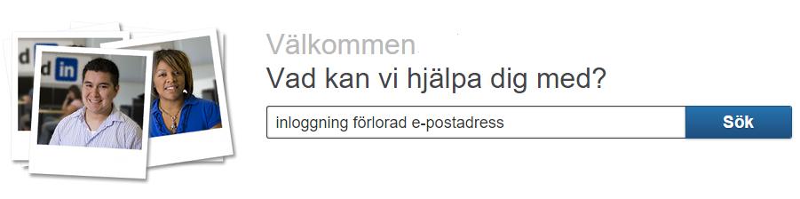 linkedin svensk hjälpcenter frågor