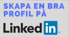 skapa en bra profil på linkedin