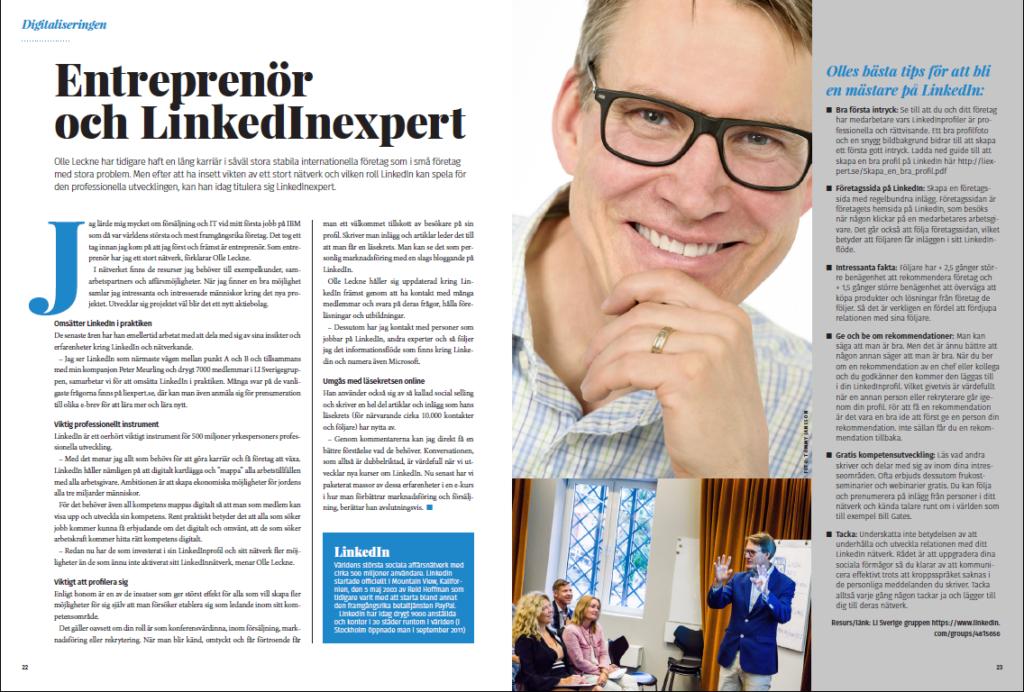 Entreprenör & Linkedinexpert
