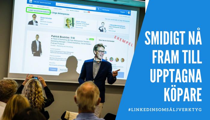 Kurs i LinkedIn Sales Navigator